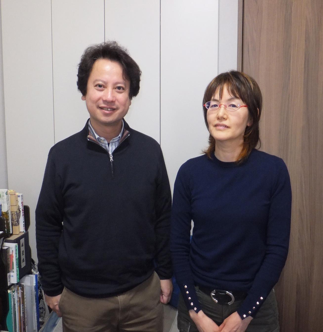 叶世 雪之靜さんと柴山弘文