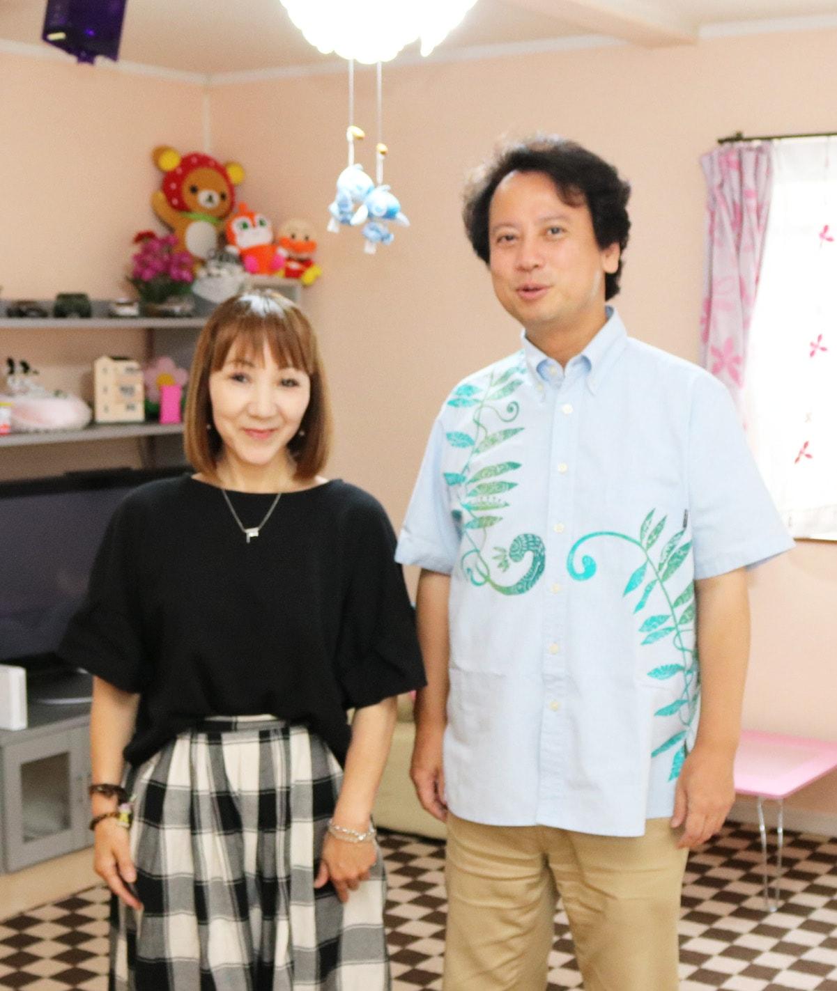 藤本ひとみさんと柴山弘文