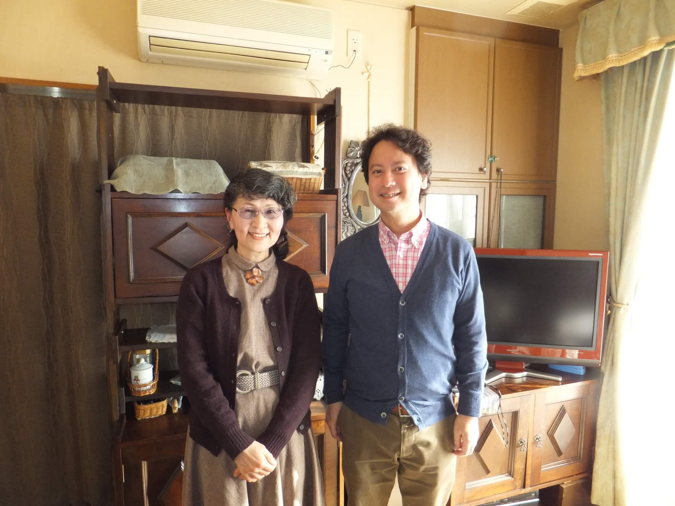 井上淳子さんと柴山弘文
