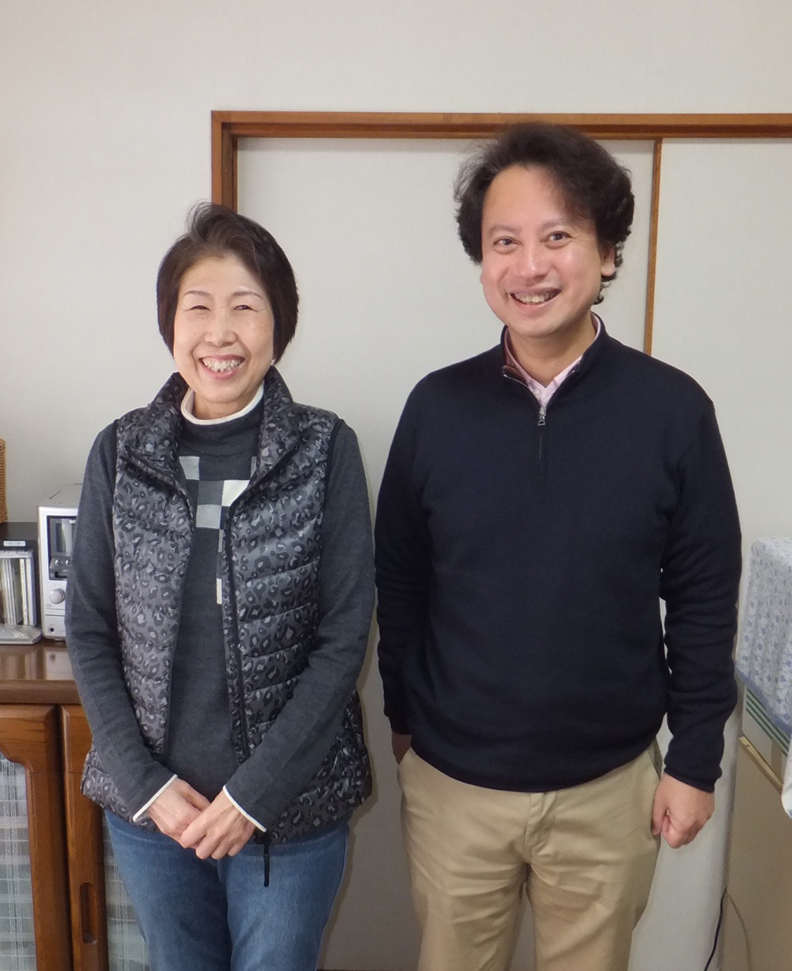 石川佐代子さんと柴山弘文