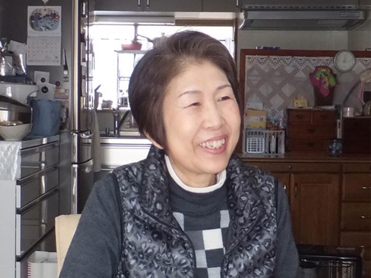 石川佐代子さんの体験談