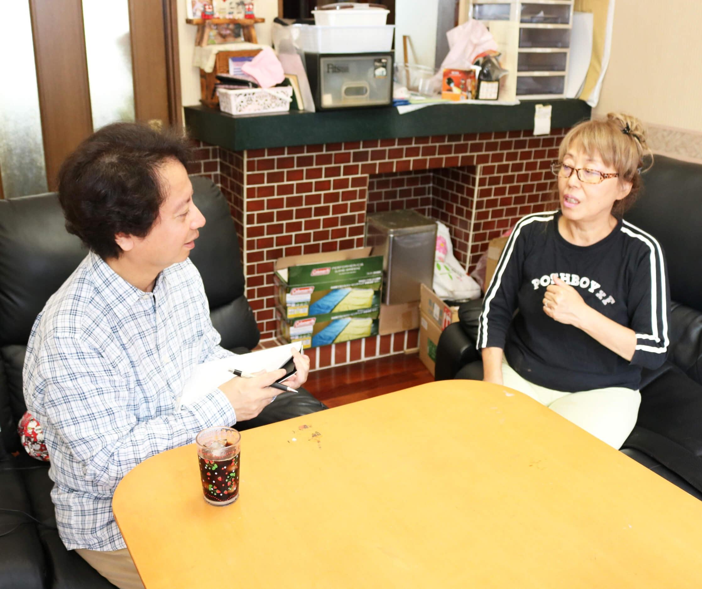 野島昭子さんの体験談