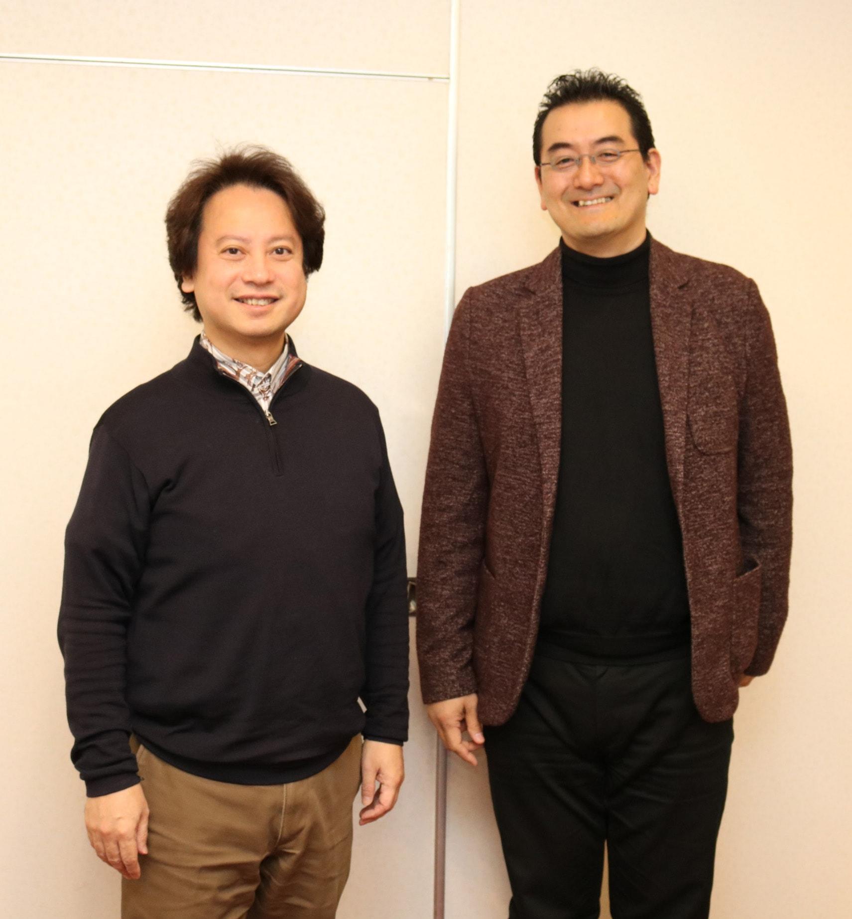 野村敏之さんさんと柴山弘文