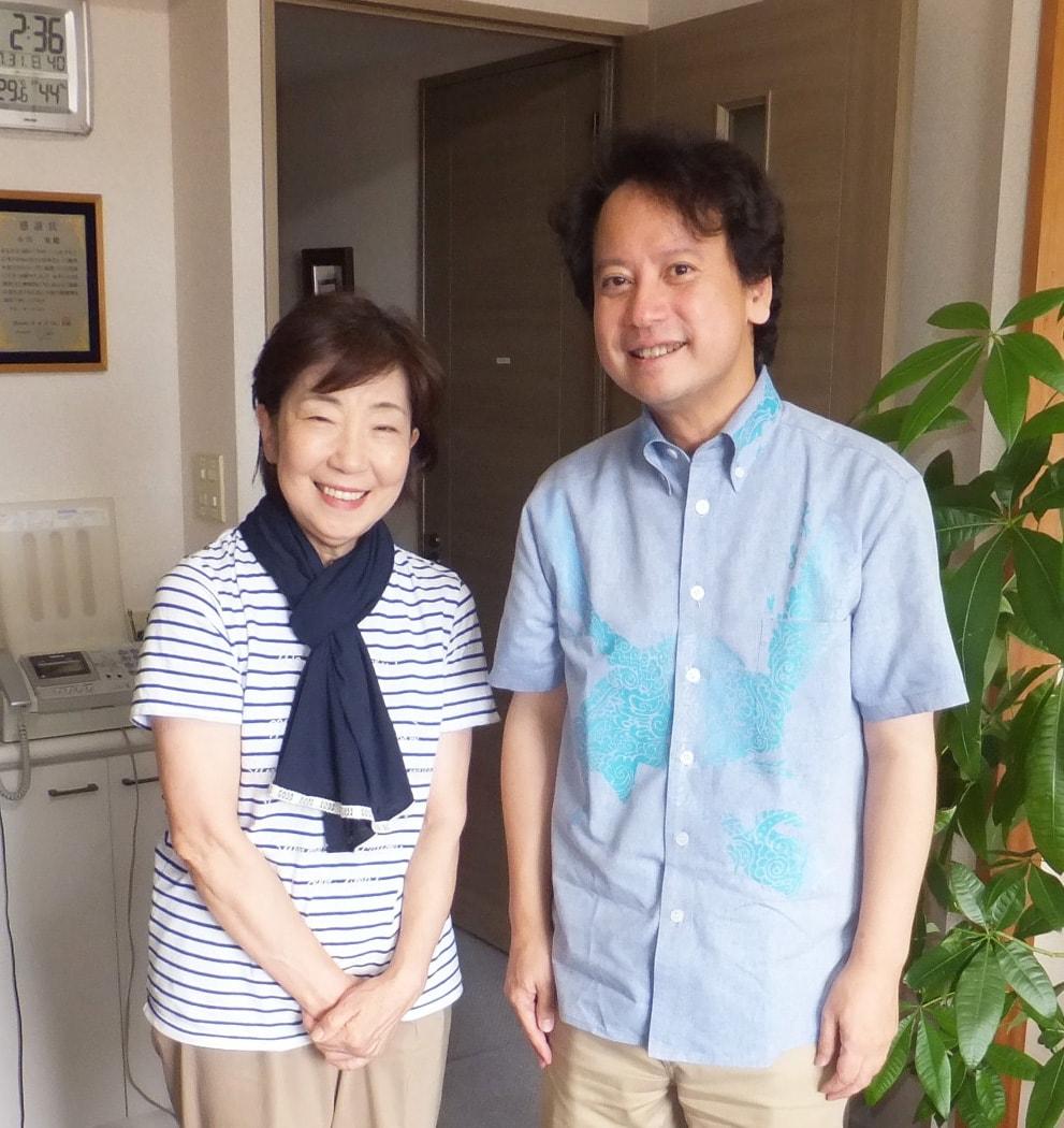 小川久子さんと柴山弘文