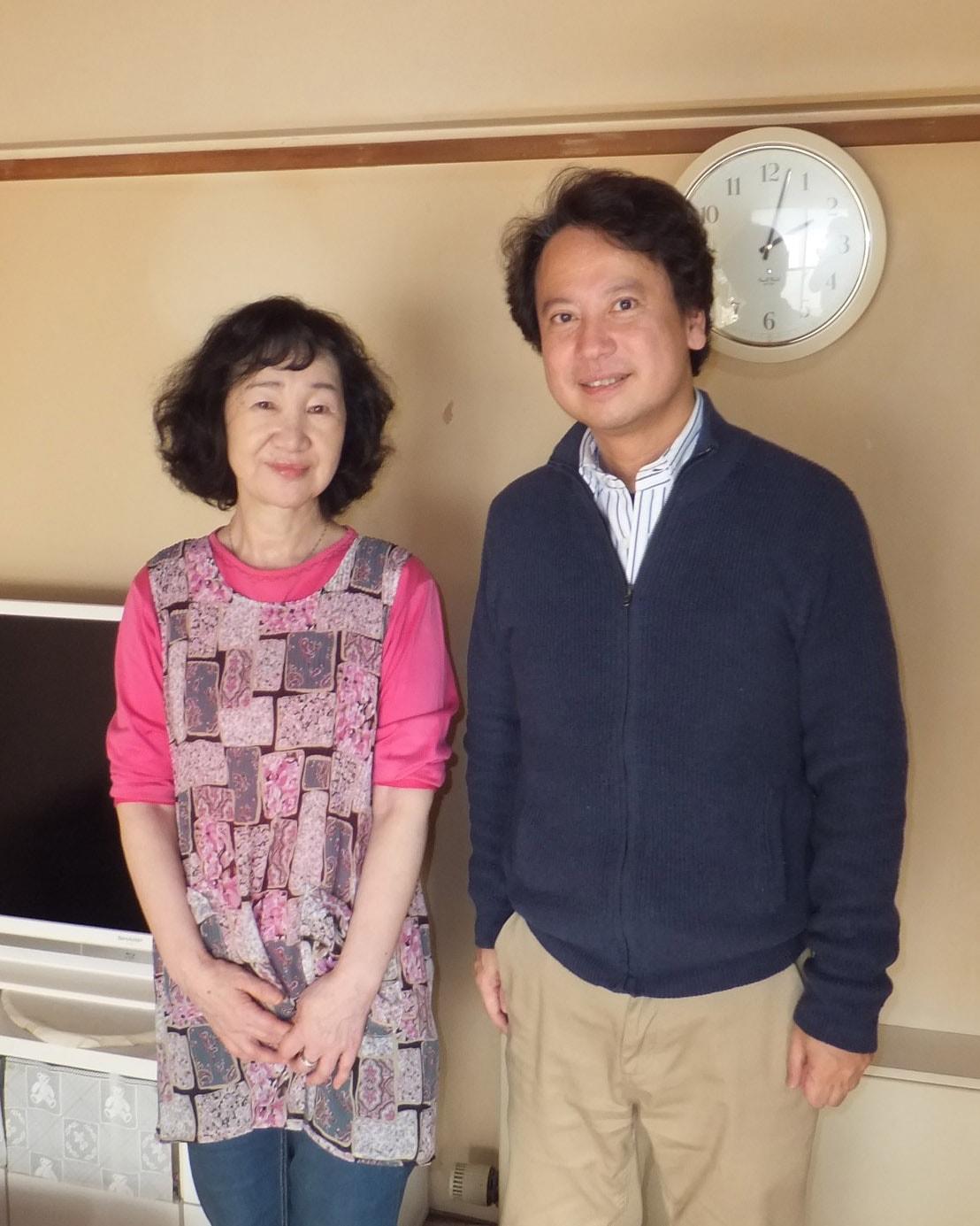 土屋和子さんと柴山弘文