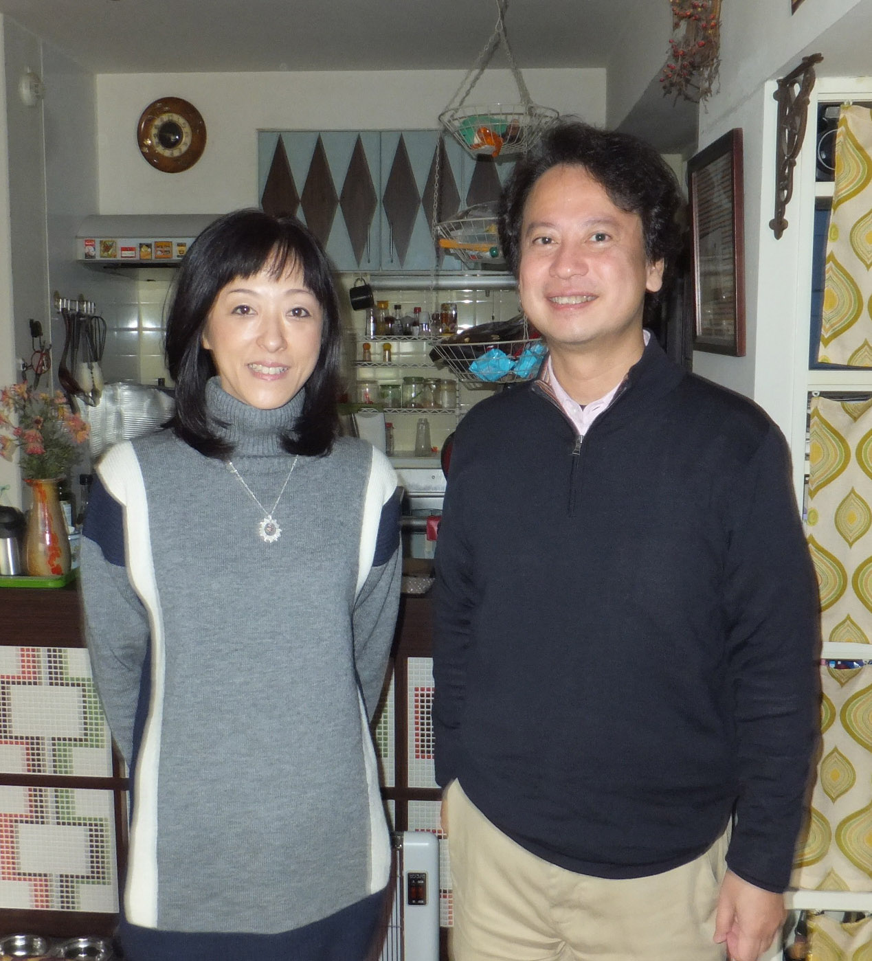 宇治眞美さんと柴山弘文