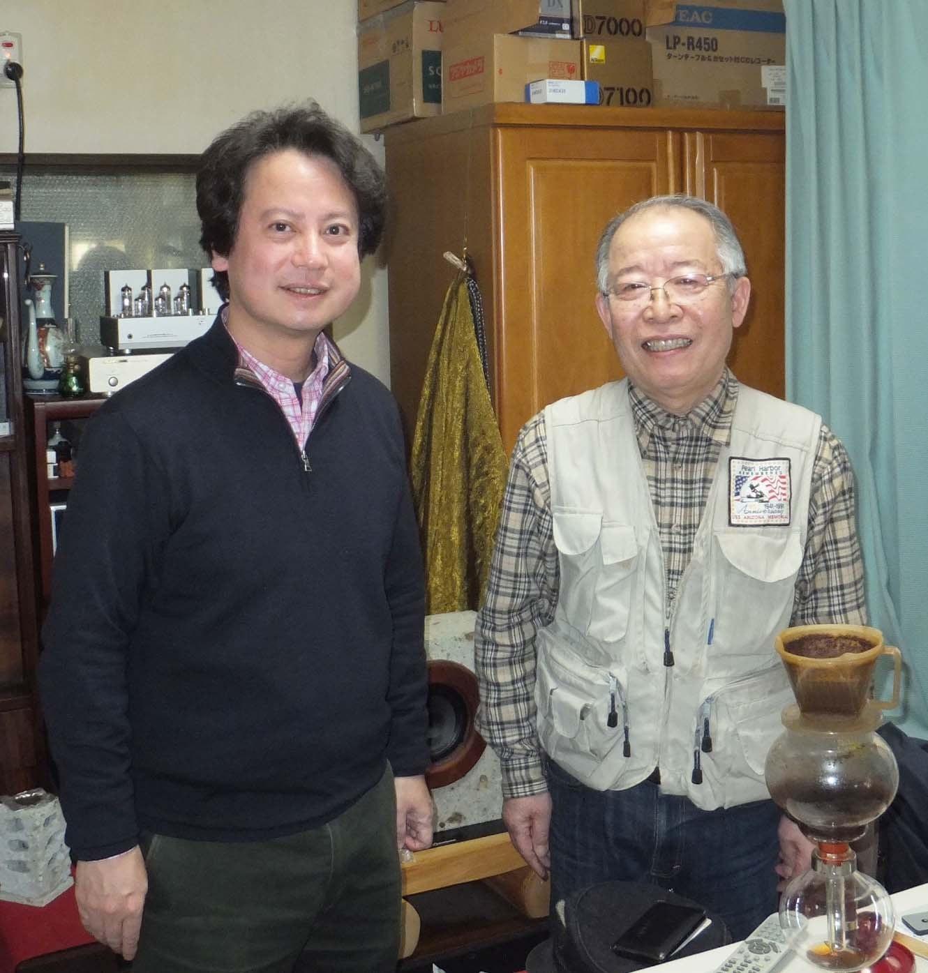 藁科信太郎さんと柴山弘文