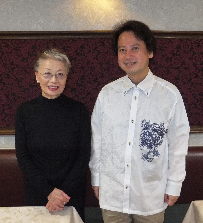 山口紹子さんと柴山弘文