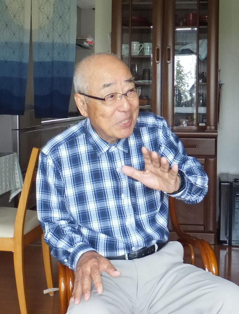 田崎守男さんの体験談