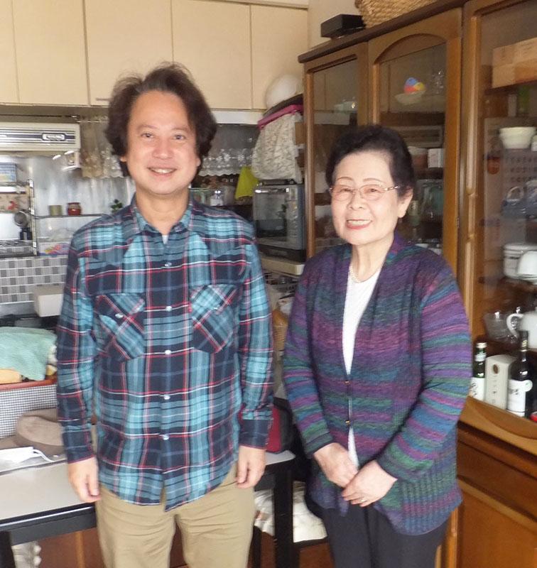 札幌市内のご自宅におうかがいしました。坂元桂子さんと柴山弘文