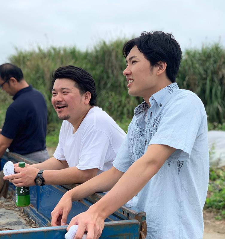 岩本さん、高橋さん